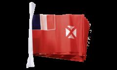 Fahnenkette Wallis und Futuna - 15 x 22 cm