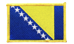 Aufnäher Bosnien-Herzegowina - 8 x 6 cm