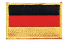 Aufnäher Deutschland - 8 x 6 cm