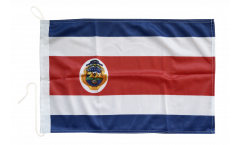 Bootsfahne Costa Rica - 30 x 40 cm
