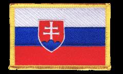 Aufnäher Slowakei - 8 x 6 cm