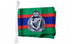 Fahnenkette Großbritannien British Army Royal Irish Regiment - 15 x 22 cm