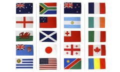 Fahnen Set Rugby WM 2015 - 60 x 90 cm
