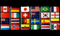 Fahnen Set Frauen WM 2015 - 60 x 90 cm