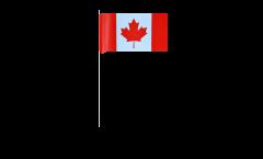 Papierfahnen Kanada - 12 x 24 cm