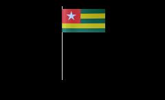 Papierfahnen Togo - 12 x 24 cm