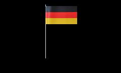 Papierfahnen Deutschland - 12 x 24 cm