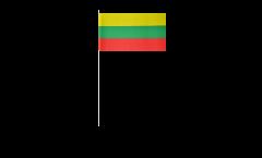 Papierfahnen Litauen - 12 x 24 cm