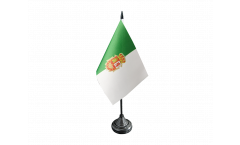 Tischflagge Spanien Fuerteventura - 10 x 15 cm