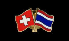 Freundschaftspin Schweiz - Thailand - 22 mm