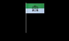 Papierfahnen Schützenfest mit Emblem - 12 x 24 cm