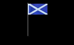 Papierfahnen Schottland - 12 x 24 cm