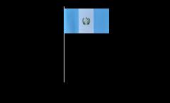 Papierfahnen Guatemala - 12 x 24 cm
