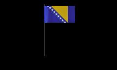 Papierfahnen Bosnien-Herzegowina - 12 x 24 cm