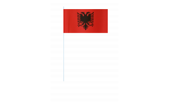 Papierfahnen Albanien - 12 x 24 cm