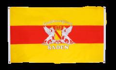 Balkonflagge Deutschland Großherzogtum Baden - 90 x 150 cm