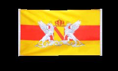 Balkonflagge Deutschland Großherzogtum Baden 2 - 90 x 150 cm