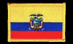 Aufnäher Ecuador - 8 x 6 cm