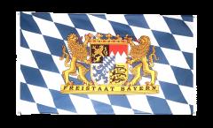 Balkonflagge Deutschland Bayern Freistaat - 90 x 150 cm