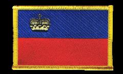 Aufnäher Liechtenstein - 8 x 6 cm