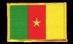Aufnäher Kamerun - 8 x 6 cm