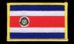 Aufnäher Costa Rica - 8 x 6 cm