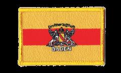 Aufnäher Deutschland Großherzogtum Baden 2 - 8 x 6 cm