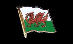 Flaggen-Pin Wales - 2 x 2 cm
