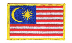 Aufnäher Malaysia - 8 x 6 cm