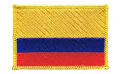 Aufnäher Kolumbien - 8 x 6 cm