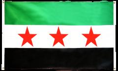 Balkonflagge Syrien 1932-1963 / Opposition - Freie Syrische Armee - 90 x 150 cm