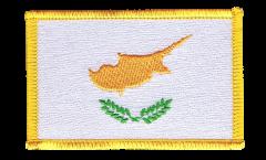 Aufnäher Zypern - 8 x 6 cm