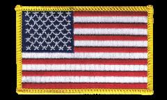 Aufnäher USA - 8 x 6 cm