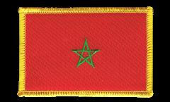 Aufnäher Marokko - 8 x 6 cm
