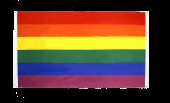 Balkonflagge Regenbogen - 90 x 150 cm