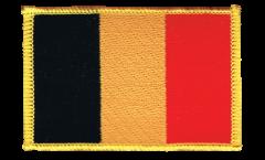 Aufnäher Belgien - 8 x 6 cm