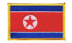 Aufnäher Nordkorea - 8 x 6 cm