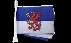 Fahnenkette Pommern - 15 x 22 cm