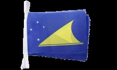 Fahnenkette Tokelau - 15 x 22 cm