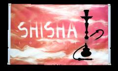 Balkonflagge Shisha Lounge - 90 x 150 cm