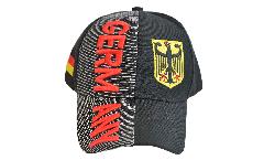 Cap / Kappe Deutschland Germany schwarz, nation