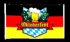 Balkonflagge Oktoberfest Deutschland - 90 x 150 cm