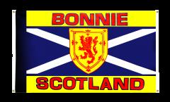 Balkonflagge Schottland Bonnie Scotland - 90 x 150 cm