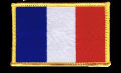 Aufnäher Frankreich - 8 x 6 cm