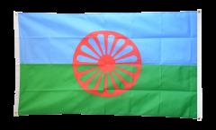 Balkonflagge Sinti und Roma - 90 x 150 cm