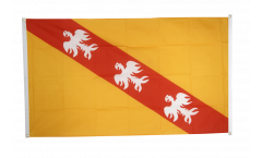 Balkonflagge Frankreich Lothringen - 90 x 150 cm