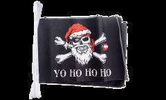 Fahnenkette Pirat Yo ho ho - 15 x 22 cm