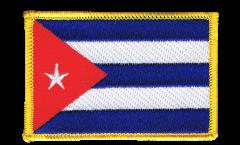 Aufnäher Kuba - 8 x 6 cm
