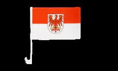 Autofahne Deutschland Brandenburg - 30 x 40 cm