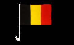 Autofahne Belgien - 30 x 40 cm